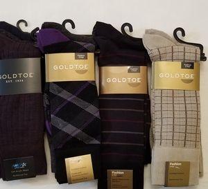 12 Pair of Gold Toe Dress Socks